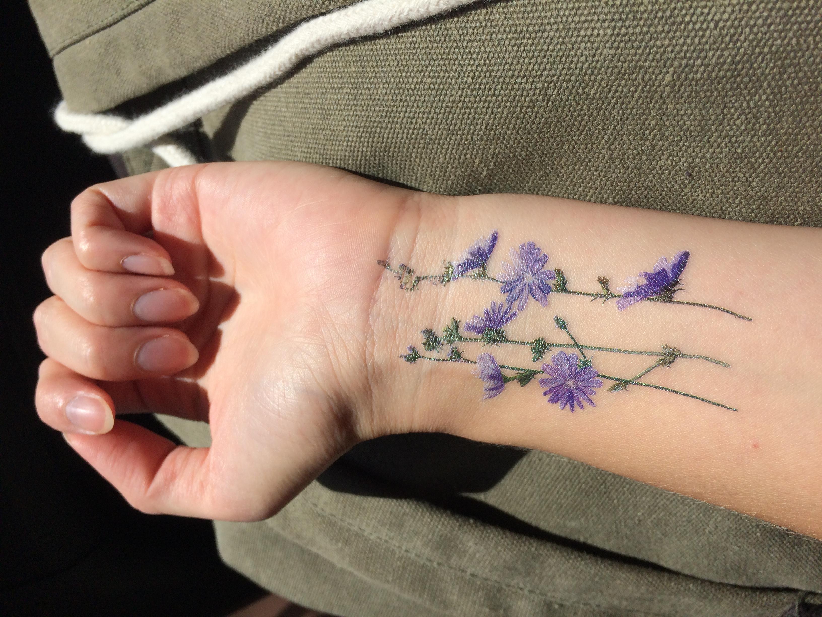 Tatuaże Las I Niebo Córka Leśników